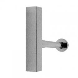 TRES - Umyvadlový viditelný sifon, čtverhranný, výsuvný, s krytem (10710342)