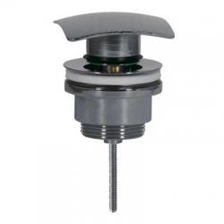 TRES - Umyvadlový ventil SIMPLE-RAPIDČtvercová zátka 68x68mm CLICK-CLACK (13434010)