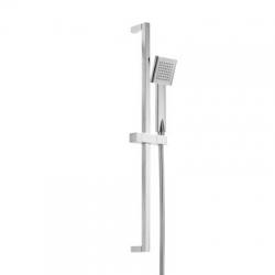 TRES - Sprchová souprava, proti usaz. vod. kamene CUADRO-MINIMateriál Mosaz, délka 900mm Flexi hadice SATIN (134522)