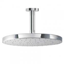 TRES - Stropní sprchové ramínko s kropítkem se systémem proti usaz. vod. kamenes kloubem. O300mm. (134331)