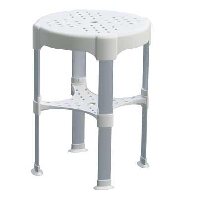 TRES - Nastavitelná koupelnová stoličkaMaximální nosnost 225 kg. (03463629)