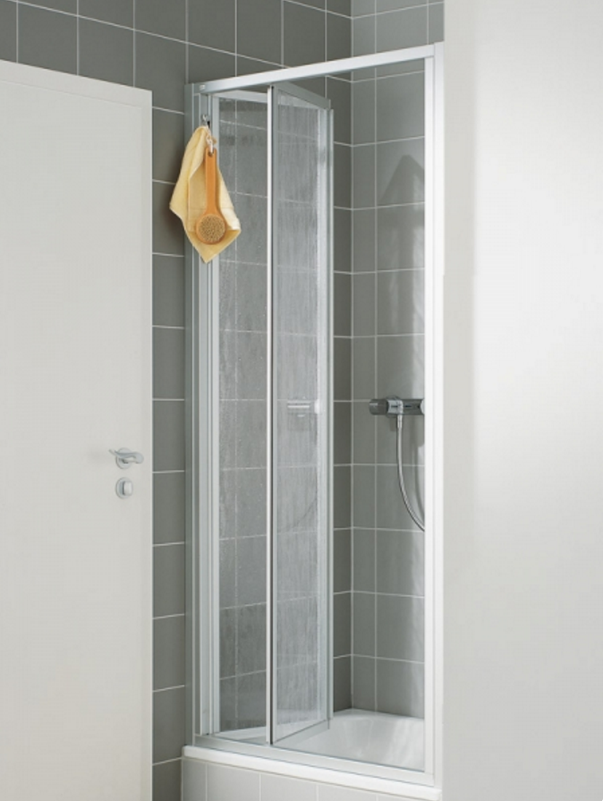 VÝPRODEJ Zalamovací dveře-výplň bílý plast N2FTD1001822K