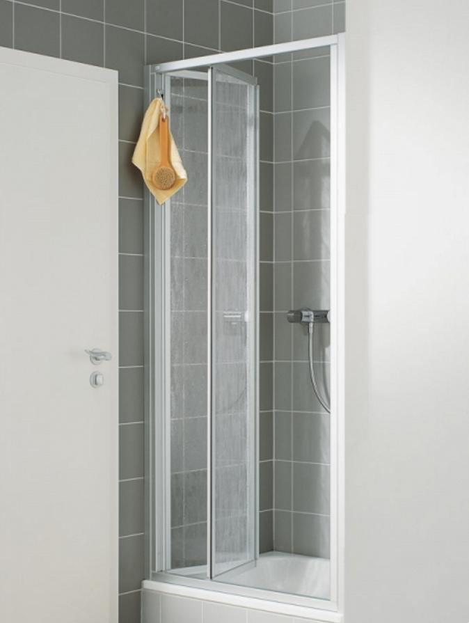 Zalamovací dveře-výplň bílý plast (N2FTD1001822K) - VÝPRODEJ
