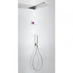 TRES - Termostatický podomítkový elektronický sprchový set SHOWERTECHNOLOGY Včetně elektronického ovládání (bílá barva). Z (09286554)