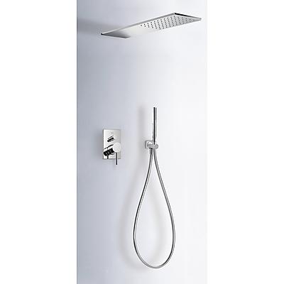 Podomítkový jednopákový sprchový set MAX s uzávěrem a regulací průtoku. · Včetně podomítko (06251601) Tres