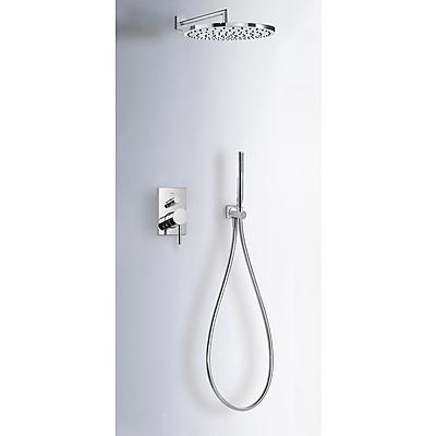 Podomítkový jednopákový sprchový set MAX s uzávěrem a regulací průtoku (06298001) Tres