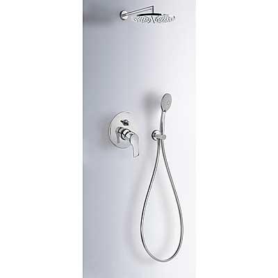 Sprchová sada vestavná s uzávěrem a regulací průtoku.· Včetně podomítkového tělesa· Pevn (06917501) Tres