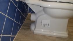KERASAN - RETRO WC kombi mísa 38,5x41x72cm, zadní odpad (101301), fotografie 8/4