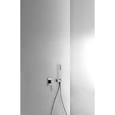 Podomítkový jednopákový sprchový set s uzávěrem a regulací průtoku.· Včetně podomítkového (20217703) Tres
