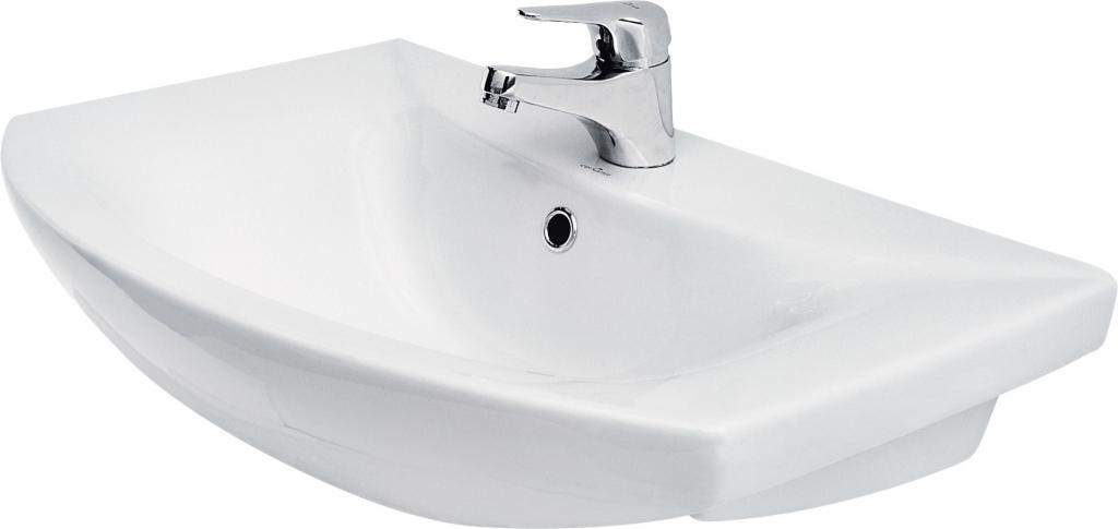 CERSANIT Nábytkové umyvadlo OMEGA 65 s otvorem (K11-0003)