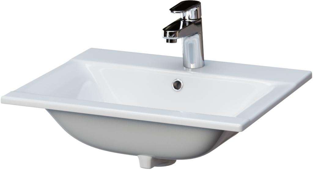 CERSANIT Nábytkové umyvadlo ONTARIO NEW 50 s přepadem K669-001
