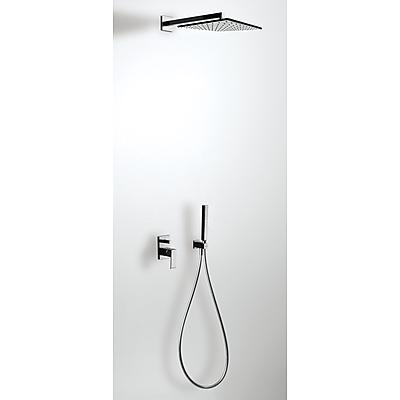 Podomítkový jednopákový sprchový set s uzávěrem a regulací průtoku. · Včetně podomítkovéh (606980)