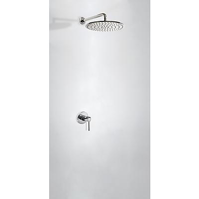 Podomítkový jednopákový sprchový set s uzávěrem a regulací průtoku. · Včetně podomítkového (26217793) Tres