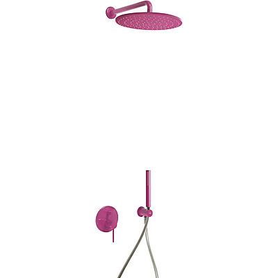 Podomítkový jednopákový sprchový set s uzávěrem a regulací průtoku.· Včetně podomítkovéh (26298091TVI)