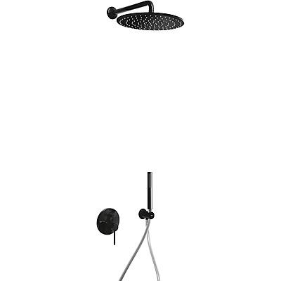Podomítkový jednopákový sprchový set s uzávěrem a regulací průtoku (26298091TNE)