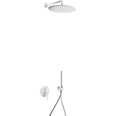 Podomítkový jednopákový sprchový set s uzávěrem a regulací průtoku.· Včetně podomítkovéh (26298091TBL) Tres