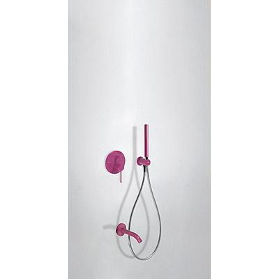 Podomítkový jednopákový sprchový set s uzávěrem a regulací průtoku, včetně tělesa (26218003TVI)
