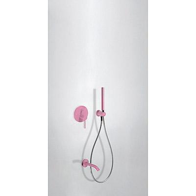 Podomítkový jednopákový sprchový set s uzávěrem a regulací průtoku. · Včetně podomítkového (26218003TFU)