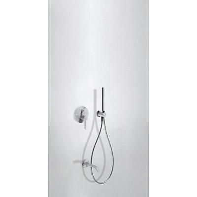 Podomítkový jednopákový sprchový set s uzávěrem a regulací průtoku. · Včetně podomítkového (26218003TBL)