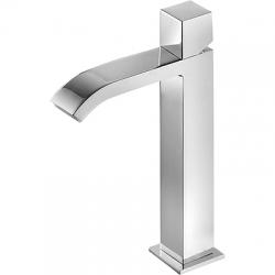 TRES - Jednopáková umyvadlová baterieramínko s vodopádem. * POZNÁMKA: Baterie typu vodopádu je doplněna dvěma regulačními koho (00661002)