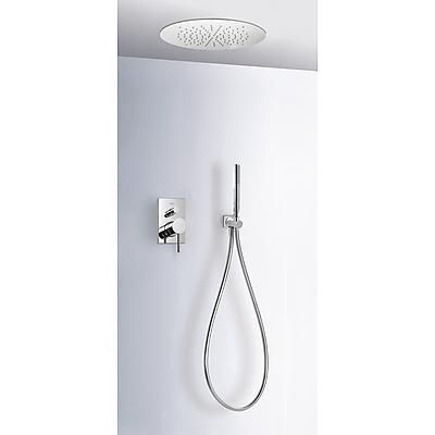 Podomítkový jednopákový sprchový set MAX s uzávěrem a regulací průtoku. · Včetně podomítko (06218009) Tres