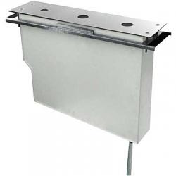 TRES - Set nádrže pro stojánkové vanové baterieSnadná montáž shora. Bez otvorů (Kód: 062.161.03, 062.161.02, 200.162.03, 200.1 (20324501)