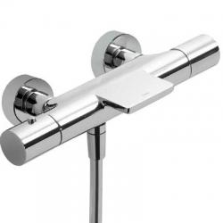 TRES - Termostatická baterie pro vanu–sprchu MAX/CLASSs kaskádou. Přepínač zabudovaný v regulaci průtoku. (06117201)
