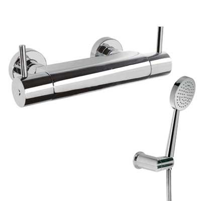 TRES Termostatická sprchová baterie Ruční sprcha s nastavitelným držákem (299.631.03), proti us (09096401)