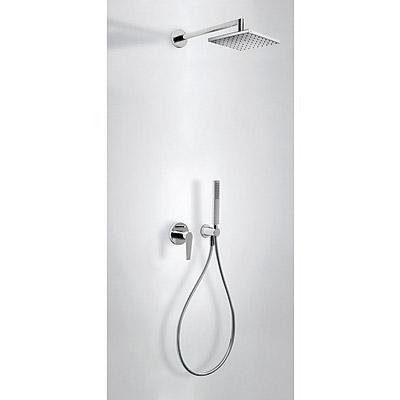 Podomítkový jednopákový sprchový set CLASS s uzávěrem a regulací průtoku.· Včetně podomít (20518002) Tres