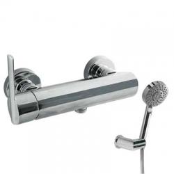TRES - Jednopáková sprchová baterie Ruční masážní sprcha O100mm. (5funkcí) (1.34.748) snastav (181468)