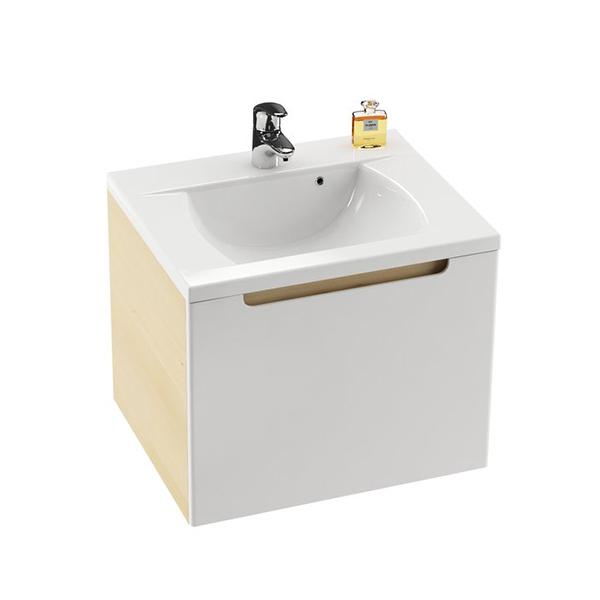 RAVAK Skříňka pod umyvadlo š. 60cm, č.426 dvířka bílá, korpus espresso SD 600 CLASSIC (X000000426) (MK27417)