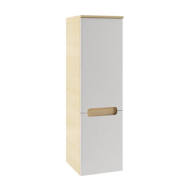 RAVAK Boční skříňka š. 35cm, č.434 dvířka bílá, korpus espresso SB 350 CLASSIC LEVÁ (X000000434) (MK27134)