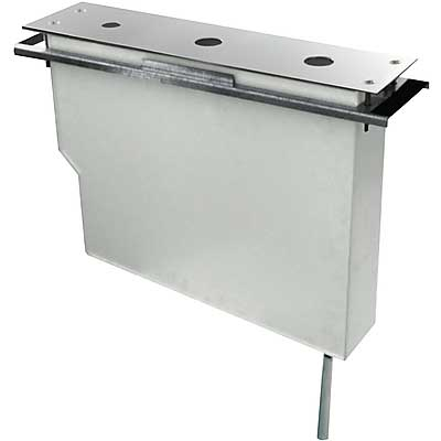TRES UZAVÍRACÍ VENTILY Set nádrže pro stojánkové vanové baterie Snadná montáž shora. Bez otvorů (189245 )