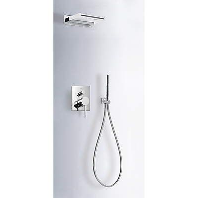 Sprchová sada podomítková MONO-TERM® s uzávěrem a regulací průtoku. · Včetně podomítkového (06218006)