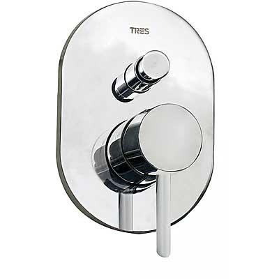 TRES - Vestavěná jednopáková baterie (dvoucestná) včetně podomítkového tělesa (20318001)
