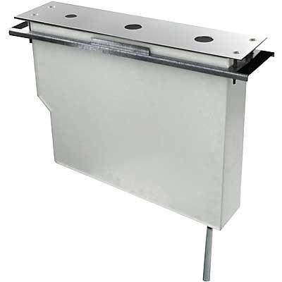 TRES UZAVÍRACÍ VENTILY Set nádrže pro stojánkové vanové baterie Snadná montáž shora. Bez otvorů (134245 )