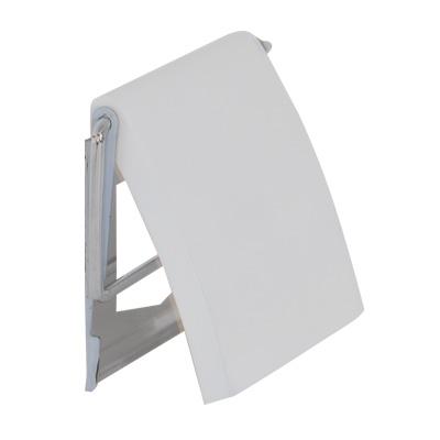 ARTTEC Držák na toaletní papír MDF + nerez s krytem white (MSV00093)