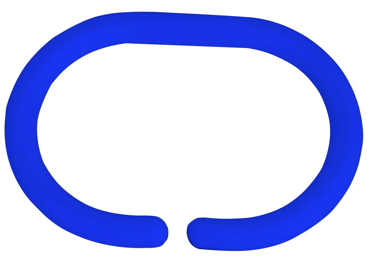 ARTTEC - Háčky pro sprchové závěsy - set 12 ks - dark blue (MSV00123)