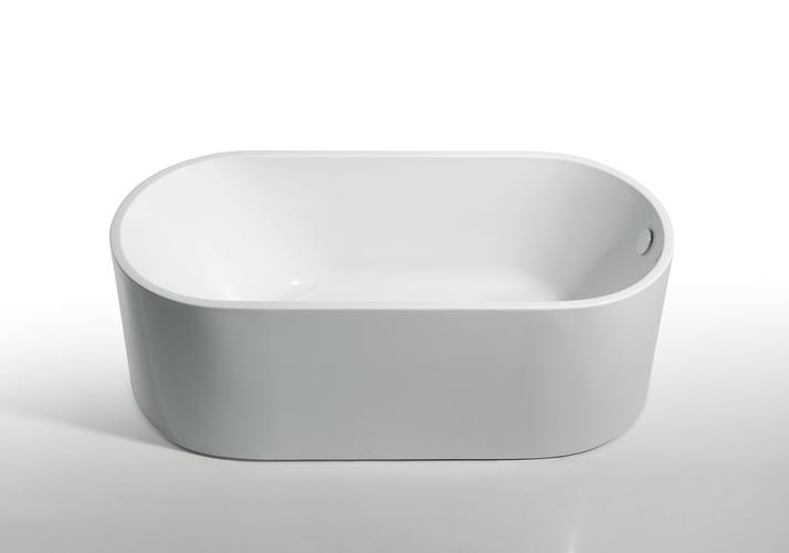 Kreiner DENMARK vana volně stojící 170 x 80 cm bílá (K5105772)
