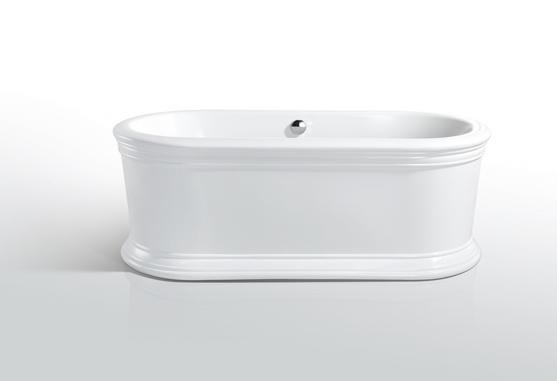 Kreiner TOURS vana volně stojící 170 x 80 cm 5105774 bílá (K5105774)
