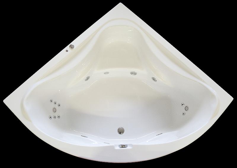 ARTTEC Hydromasážní vana se světelnou terapií 150x150 řada SURF (PAN01230)