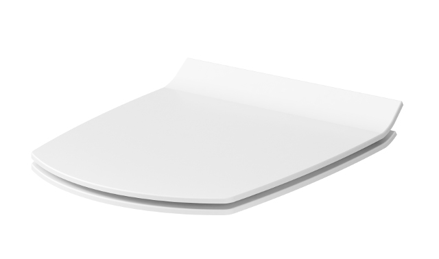 CERSANIT - WC sedátko CARINA SLIM DUROPLAST ANTIB.  SC ECO jedno tlačítko (K98-0135), fotografie 4/3