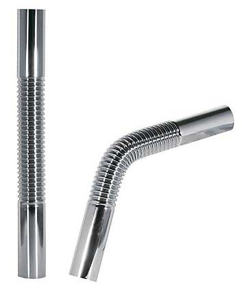 TRES - Pružná vlnitá mosazná trubka pro lahvový sifon 300mm (913463330)