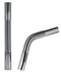 Pružná vlnitá mosazná trubka pro lahvový sifon 300mm (913463330) - TRES