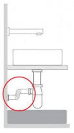 TRES - Pružná vlnitá mosazná trubka pro lahvový sifon 300mm (913463330), fotografie 6/3