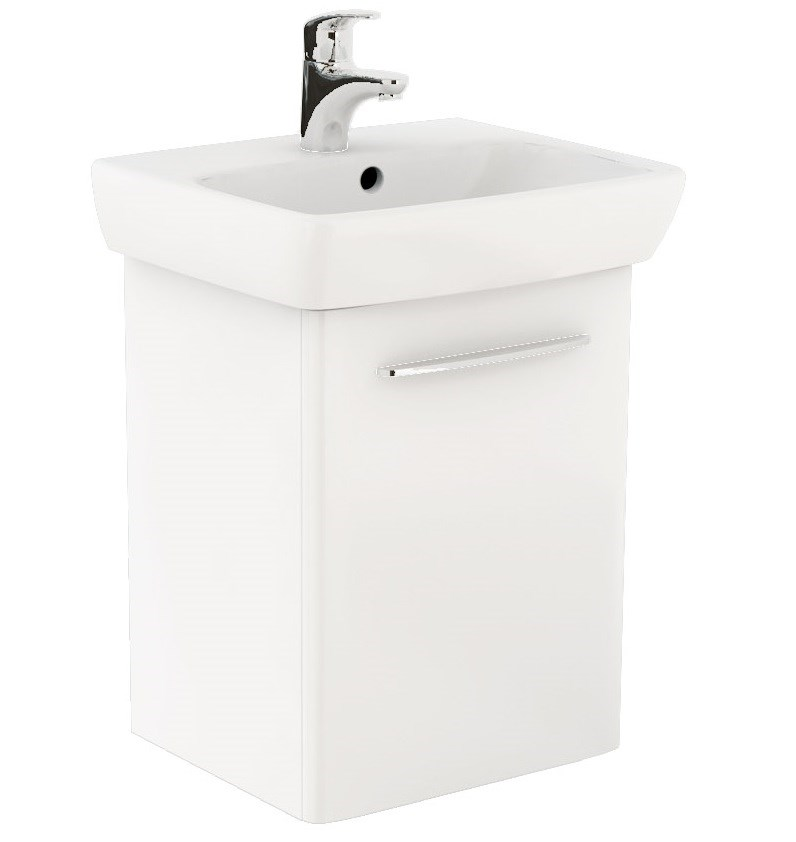 KOLO Nova Pro koup.sestava umyvadlo 50 cm + um. skříňka, lesklá bílá (M39004000)