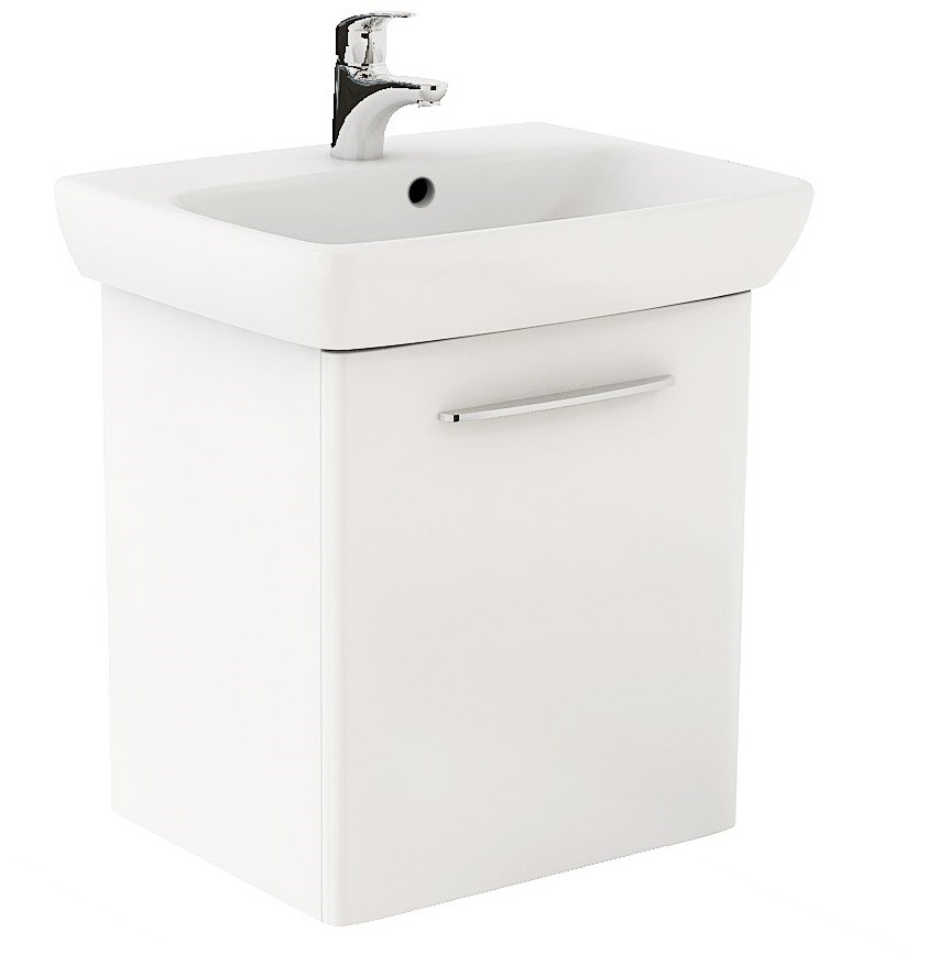 KOLO Nova Pro koup.sestava umyvadlo 60 cm + um. skříňka, lesklá bílá (M39006000)