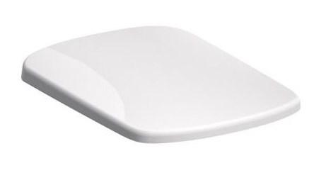 KOLO Nova Pro pravoúhlé WCsedátko s autom.sklápěním, kov klouby, instalace shora, Duroplast (M30116000)