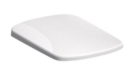 KOLO Nova Pro pravoúhlé WCsedátko, kov klouby, instalace shora, Duroplast (M30117000)