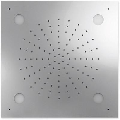 TRES Stropní sprchové kropítko z nerez. oceli, systém proti usaz. vod. kamene CHROMOTHERAPIE 50 (29996201)
